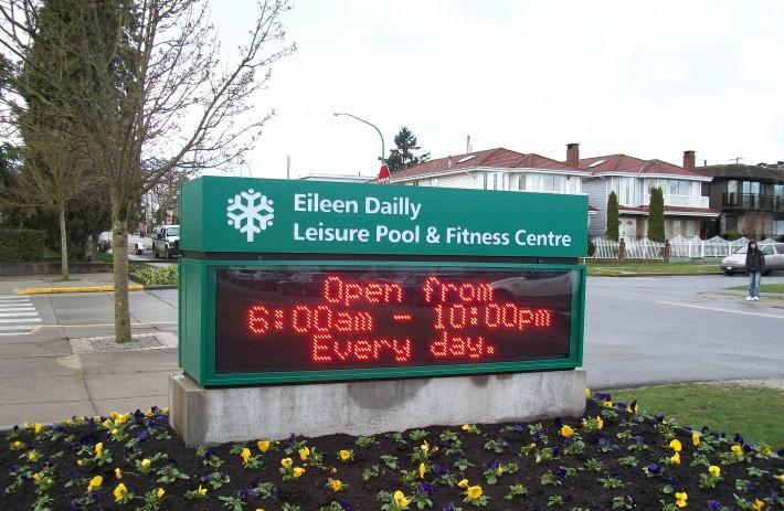 Eileen Dailly pool - Burnaby
